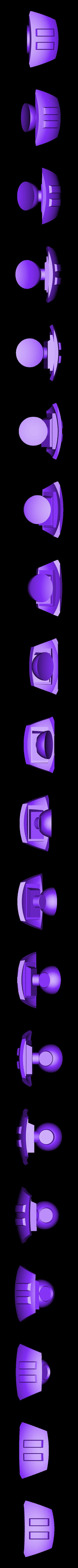 Should-Left.stl Download STL file Hammond's Wrecking Ball Mech from Overwatch • 3D printer template, FunbieStudios