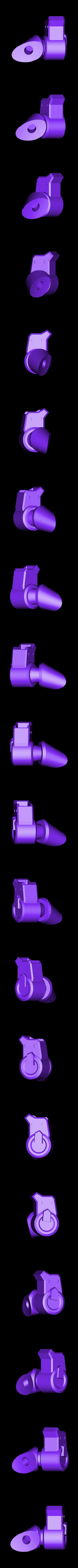 Thigh-LeftBack.stl Download STL file Hammond's Wrecking Ball Mech from Overwatch • 3D printer template, FunbieStudios
