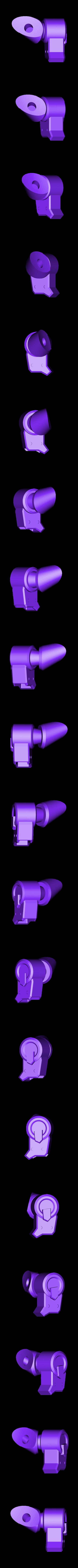 Thigh-LeftFront.stl Download STL file Hammond's Wrecking Ball Mech from Overwatch • 3D printer template, FunbieStudios
