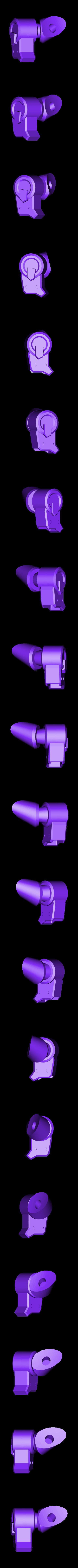 Thigh-RightFront.stl Download STL file Hammond's Wrecking Ball Mech from Overwatch • 3D printer template, FunbieStudios
