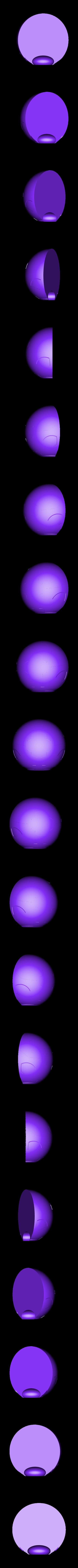 Torso-Bottom.stl Download STL file Hammond's Wrecking Ball Mech from Overwatch • 3D printer template, FunbieStudios