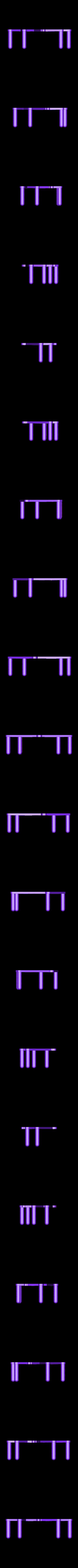 Base_lightBrown.STL Download free STL file Multi-Color Owl Coat Hanger • Design to 3D print, MosaicManufacturing