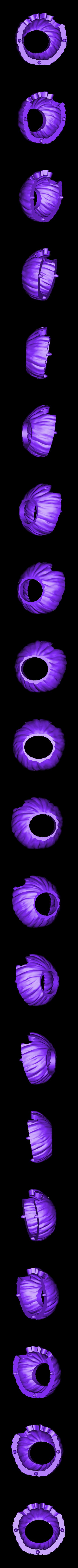 bottomhalf.stl Télécharger fichier STL gratuit Bat-o'-lanterne de chauve-souris • Design à imprimer en 3D, 3DJourney
