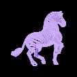 ZEBRA.stl Télécharger fichier STL gratuit Topper à gâteau zébré • Objet imprimable en 3D, serial_print3r