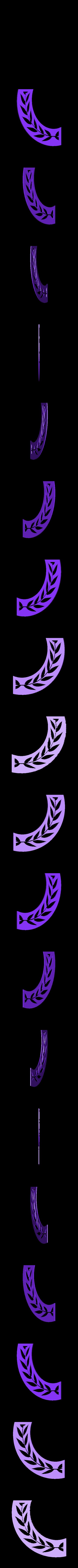 vexilloid-stencils2.stl Download free STL file Roman SPQR banner stencil • 3D print object, arpruss