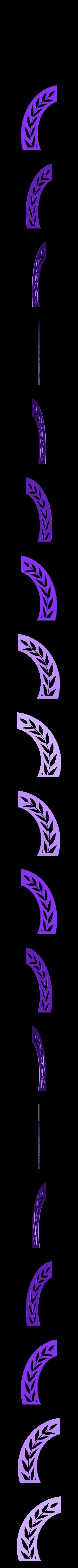vexilloid-stencils1.stl Download free STL file Roman SPQR banner stencil • 3D print object, arpruss