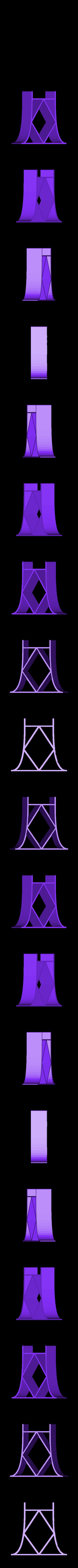 Bridge.stl Download free STL file Wooden railway bridge support • 3D print object, arpruss