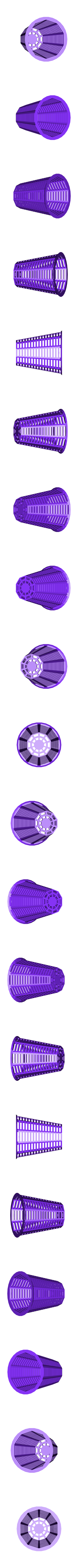 draincover.stl Download free STL file Customizable shower drain hair catcher • Template to 3D print, arpruss
