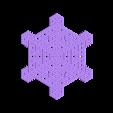 hex39.stl Télécharger fichier STL gratuit Automate cellulaire BlocsGénérateur de flocons de neige CAO • Design imprimable en 3D, arpruss