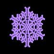 hex30-half.stl Télécharger fichier STL gratuit Automate cellulaire BlocsGénérateur de flocons de neige CAO • Design imprimable en 3D, arpruss
