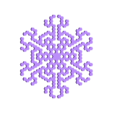 other-hex5.stl Télécharger fichier STL gratuit Automate cellulaire BlocsGénérateur de flocons de neige CAO • Design imprimable en 3D, arpruss