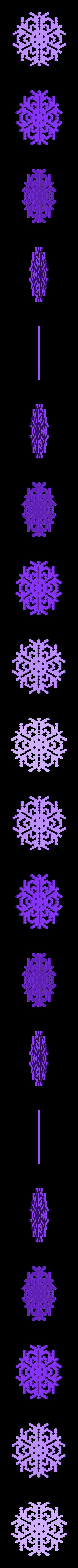 other-hex7.stl Télécharger fichier STL gratuit Automate cellulaire BlocsGénérateur de flocons de neige CAO • Design imprimable en 3D, arpruss