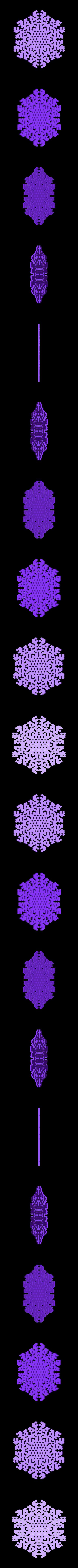 other-hex8.stl Télécharger fichier STL gratuit Automate cellulaire BlocsGénérateur de flocons de neige CAO • Design imprimable en 3D, arpruss