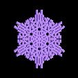 other-hex6.stl Télécharger fichier STL gratuit Automate cellulaire BlocsGénérateur de flocons de neige CAO • Design imprimable en 3D, arpruss