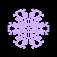 other-hex3.stl Télécharger fichier STL gratuit Automate cellulaire BlocsGénérateur de flocons de neige CAO • Design imprimable en 3D, arpruss