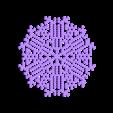other-hex1.stl Télécharger fichier STL gratuit Automate cellulaire BlocsGénérateur de flocons de neige CAO • Design imprimable en 3D, arpruss
