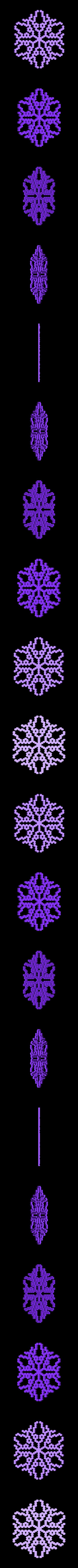 other-hex4.stl Télécharger fichier STL gratuit Automate cellulaire BlocsGénérateur de flocons de neige CAO • Design imprimable en 3D, arpruss