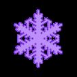reiter20-var1.stl Download free STL file Snowflake growth simulation in BlocksCAD • 3D printing design, arpruss