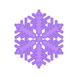reiter20-1.6-0.8-0.002-40-beveled.stl Download free STL file Snowflake growth simulation in BlocksCAD • 3D printing design, arpruss