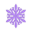 reiter-var4.stl Download free STL file Snowflake growth simulation in BlocksCAD • 3D printing design, arpruss