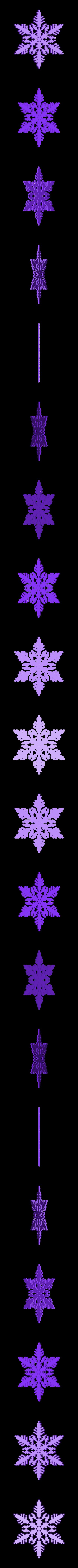 reiter-var5.stl Download free STL file Snowflake growth simulation in BlocksCAD • 3D printing design, arpruss