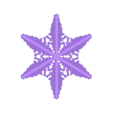 reiter40-var9.stl Download free STL file Snowflake growth simulation in BlocksCAD • 3D printing design, arpruss