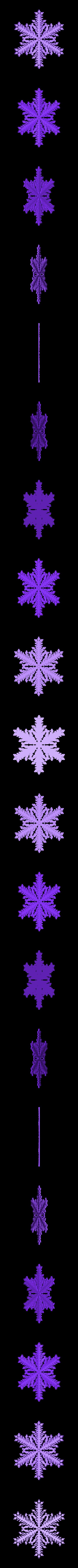 r40-rg6.stl Download free STL file Snowflake growth simulation in BlocksCAD • 3D printing design, arpruss