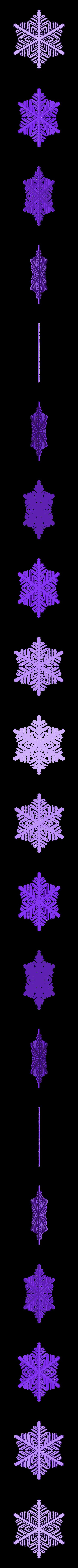 r40-rg2.stl Download free STL file Snowflake growth simulation in BlocksCAD • 3D printing design, arpruss