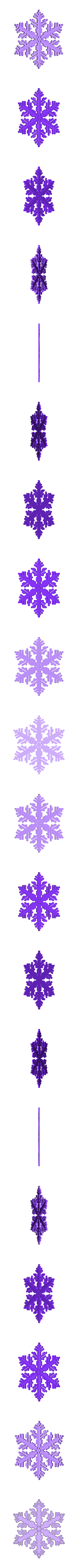 reiter30rand-gamma.stl Download free STL file Snowflake growth simulation in BlocksCAD • 3D printing design, arpruss