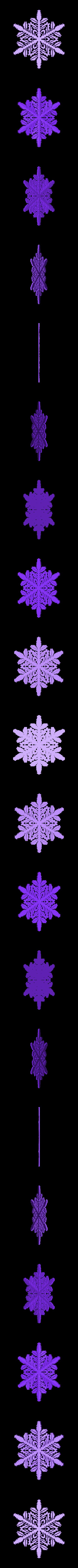 r40-rg4.stl Download free STL file Snowflake growth simulation in BlocksCAD • 3D printing design, arpruss