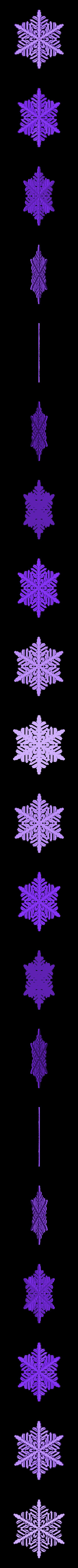 r40-rg5.stl Download free STL file Snowflake growth simulation in BlocksCAD • 3D printing design, arpruss