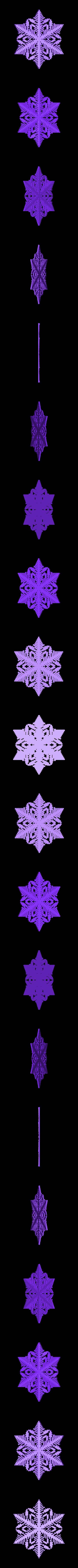 r50-rg3.stl Download free STL file Snowflake growth simulation in BlocksCAD • 3D printing design, arpruss