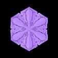 r50-rg6.stl Download free STL file Snowflake growth simulation in BlocksCAD • 3D printing design, arpruss