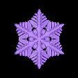reiter50-with-plates.stl Download free STL file Snowflake growth simulation in BlocksCAD • 3D printing design, arpruss