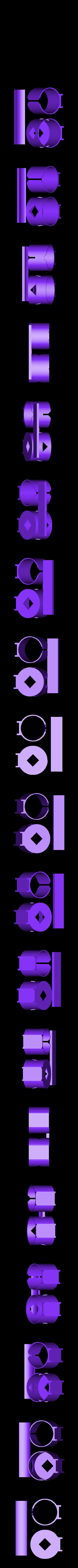 bikebottleholder.stl Télécharger fichier STL gratuit Porte-bidon pour bicyclette avec attache à fermeture éclair • Modèle à imprimer en 3D, arpruss