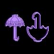 STL-ParaguitasCorazon.stl Download STL file Umbrellas, Rain, Heart, Cutter, Frame Cookie Cutter, Fondant Cutter, Cookies Cutter, Edible Pasta and/or Cold Porcelain. • 3D printing design, crcreaciones3d