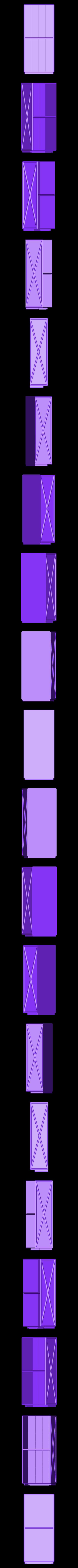 Tueten-Lager_V3-tubes.stl Télécharger fichier STL gratuit Boîte à compartiments personnalisable V3 • Objet à imprimer en 3D, dede67