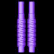 Gruffsbane_Handle_Halves.stl Download free STL file Gruffsbane Sword • 3D printer design, mrhers2