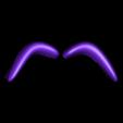 eye_brows.stl Download free STL file The Caterpillar • 3D print model, reddadsteve