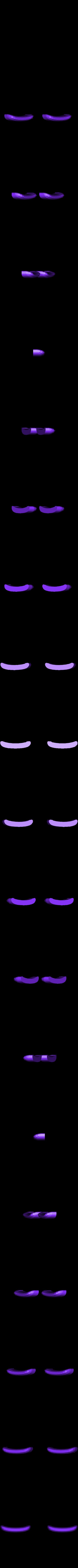 eye_lashes.stl Télécharger fichier STL gratuit La Chenille • Modèle pour imprimante 3D, reddadsteve