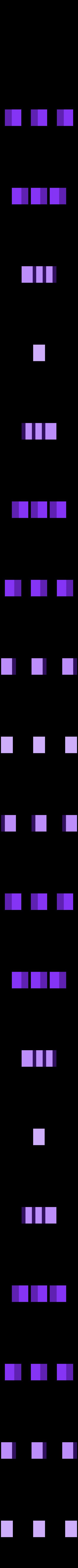 mushroom_pins.stl Télécharger fichier STL gratuit La Chenille • Modèle pour imprimante 3D, reddadsteve