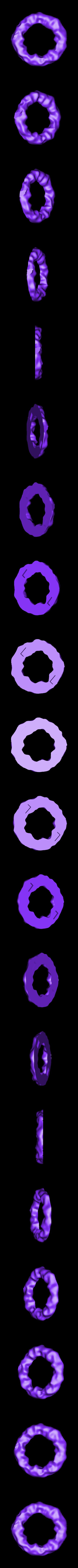 ring3_top.stl Télécharger fichier STL gratuit La Chenille • Modèle pour imprimante 3D, reddadsteve