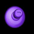 mushroom_base.stl Télécharger fichier STL gratuit La Chenille • Modèle pour imprimante 3D, reddadsteve