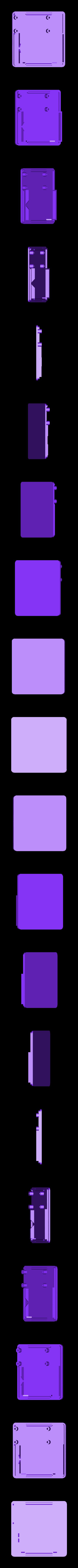 nt-bottom.stl Télécharger fichier STL gratuit Jeu de correspondance de couleurs NeoTrellis • Objet à imprimer en 3D, Adafruit