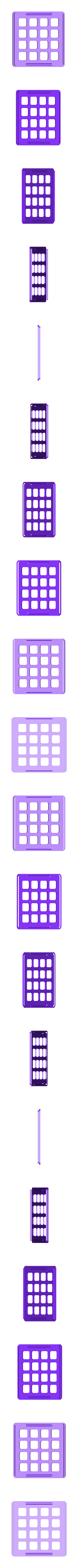 nt-top.stl Télécharger fichier STL gratuit Jeu de correspondance de couleurs NeoTrellis • Objet à imprimer en 3D, Adafruit