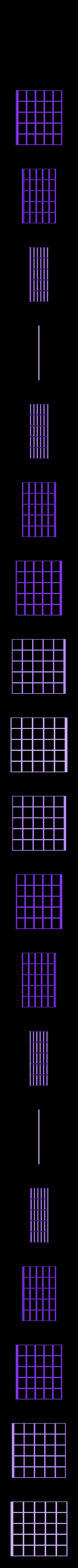 scrabblegrid2.STL Download free STL file grid for Scrabble Board • 3D printer template, rubenzilzer
