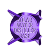 Mason_Jar_Water_Still_Base.stl Download free STL file DIY Solar Water Still ( Survival Distiller ) Purifier • 3D printable template, SuperSteve