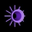 Mason_Jar_Chick_Water_Insert_OBJ.obj Download free OBJ file Baby Chick Waterer for Mason Jars Safety Drown Resistant • 3D printer design, SuperSteve