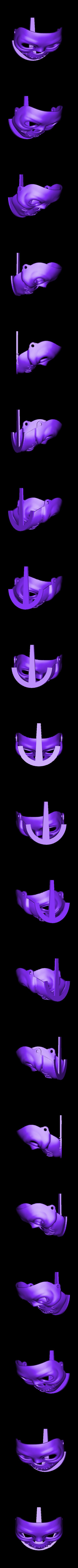 MAKIES_Spooky_Skull_Mask.STL Download free STL file Makies Spooky Skull Mask • 3D printing model, Makies