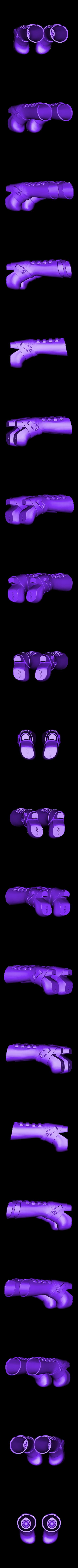 MAKIES_Heeled_glam_boots.STL Download free STL file Makies Glam Boots • 3D print template, Makies